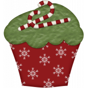 Christmas Tradition Cupcake