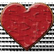 Valentine Grunge Cookie 1