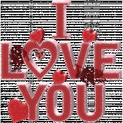 Valentine Not Grunge Word Art 2
