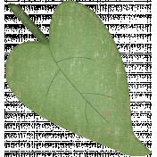 Valentine Grunge Leaf 1
