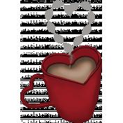 Valentine Grunge Hot Chocolate