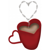 Valentine Not Grunge Hot Chocolate