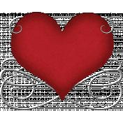 Valentine Grunge Heart 4