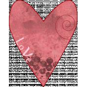 Valentine Grunge Heart 5