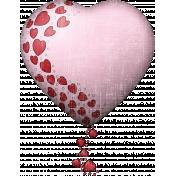 Valentine Grunge Heart 6
