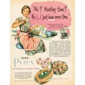 Cozy Kitchen Vintage Ad #2