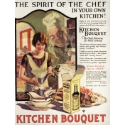 Cozy Kitchen Vintage Ad #3