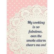 Cozy Kitchen Pocket-Filler Card #4