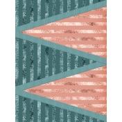 Retro Holly Jolly Journal/Pocket Card #6