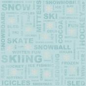 Winter Fun- Paper #1