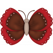 Strawberries & Chocolate- butterfly #2