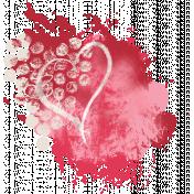 Strawberries & Chocolate- paint splatter #2