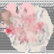 Ladybug Garden- paint splatter #1