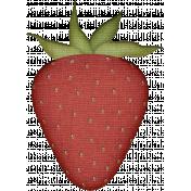 Homestea- burlap strawberry
