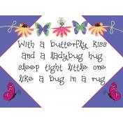A Bug's World- pocket card #9