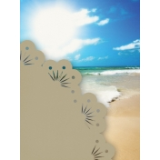 Just Beachy- journal/pocket card 8