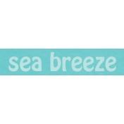 Just Beachy- word tag 22