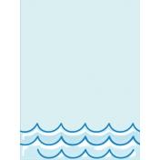 Just Beachy- journal/pocket card 9