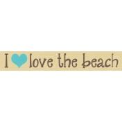 Just Beachy- word tag 26