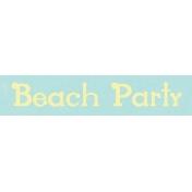 Just Beachy- word tag 31