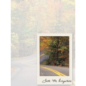Hit the Road- pocket card 4