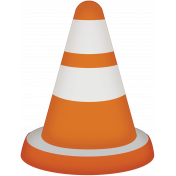 Hit the Road- construction cone