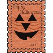 Spooktacular- postage stamp 1