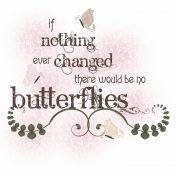 Butterfly Spring- word art 3