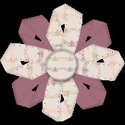 Vintage Memories- ribbon flower 5