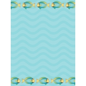 Down Where It's Wetter 2- Pocket/Journal Card 5-2, size 3x4