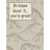 Dino-Mite, Pocket Card 1, size 3x4