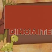 Dino-Mite, Jornal Card 6, size 4x4