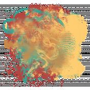 Santa Fe- Paint Splatter 2