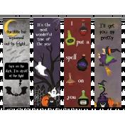 Halloween Bookmarks #2
