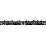Fancy Glitter Border- Style 1, Dark Multi