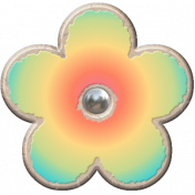 Flowerpop Multi-colored Flower 2