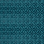 Goodnight Blue Floral Paper