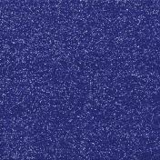 Medium-Dark Blue Glitter Sheet