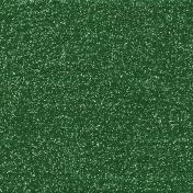 Dark Green Glitter Sheet