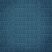 Yesteryear Blue Damask Paper