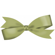 This is Halloween Mini: Green Bow