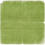 This is Halloween Mini: Green Notepaper