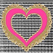 Heart frane