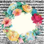 Mixed Media Play - Circle Sticker 4