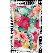 Mixed Media Play - Floral Torn Paper Bit
