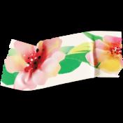 Mixed Media Play- Floral Washi 1