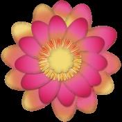 Mixed Media Play - Flower 2