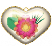 Mixed Media Play- Acrylic Heart 2