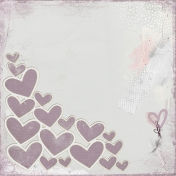 Me & You (Mauve)- Heart Paper 2