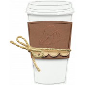 Fall PaperCraft Coffee Cup